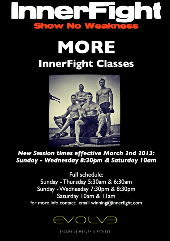 Classes March 2013