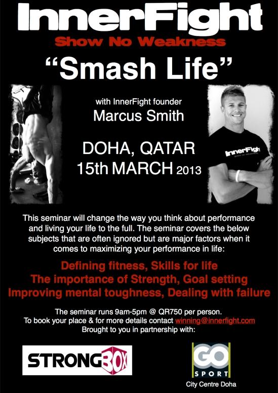 InnerFight Smash Life Doha 1