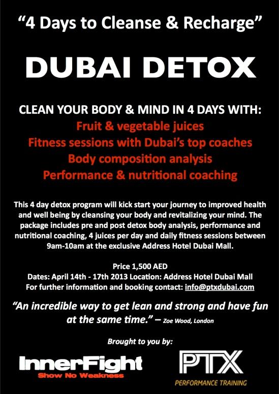 14th April Detox